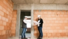 Brandschutzkonzept Besprechung am Bau